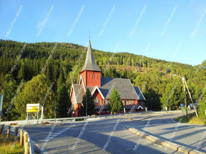 Church in the forest. Image of Church, Tree, Steeple, Sky, Place of worship, Rural area, Road, Mountain, Building, Architecture