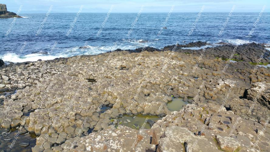 Image of Shore, Coast, Sea, Rock, Coastal and oceanic landforms, Raised beach, Promontory, Ocean, Tide pool, Beach
