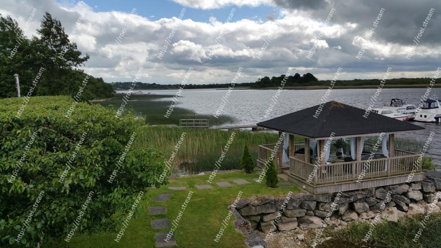 Image of Property, Cottage, House, Natural landscape, Home, Sky, Real estate, Building, Lake, Reservoir