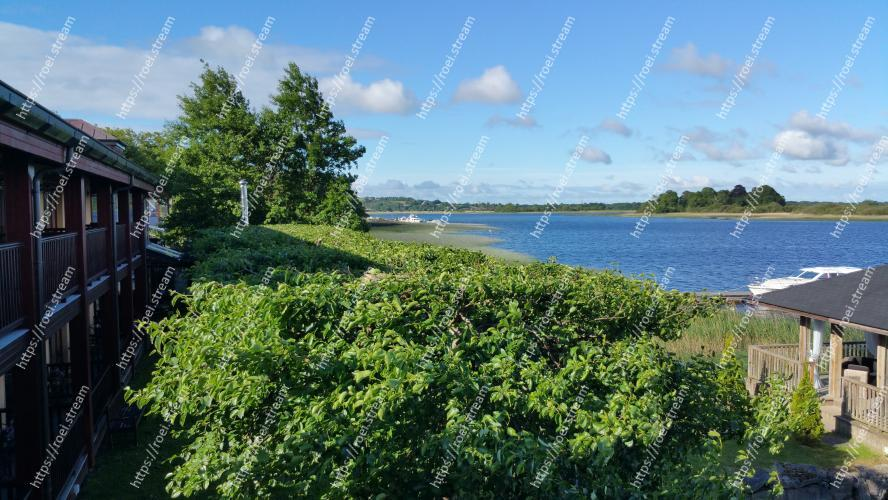 Image of Vegetation, Property, Sky, Wilderness, Shore, Lake, Tree, Grass, Real estate, House