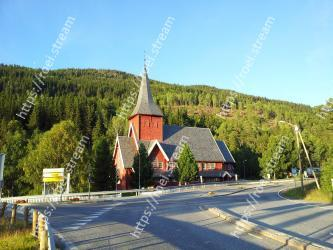 Church, Tree, Steeple, Sky, Place of worship, Rural area, Road, Mountain, Building, Architecture