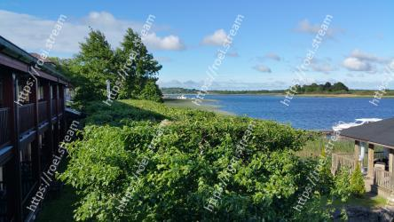 Vegetation, Property, Sky, Wilderness, Shore, Lake, Tree, Grass, Real estate, House