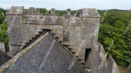 Fortification,Wall,Ruins,Archaeological site,Castle,Historic site,Building,Architecture,Roof Bunratty Castle