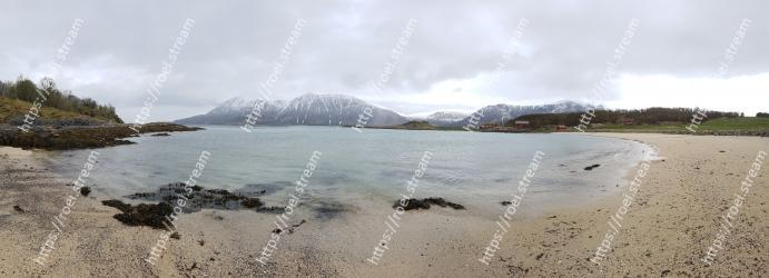Body of water, Highland, Coast, Sea, Sky, Shore, Beach, Atmospheric phenomenon, Mountain, Loch