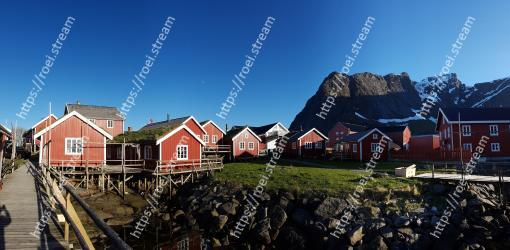 Sky, House, Home, Mountain, Town, Rural area, Architecture, Roof, Landscape, Village
