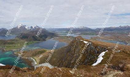 Highland, Mountainous landforms, Mountain, Fell, Tarn, Mountain range, Natural landscape, Ridge, Loch, Hill