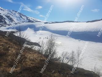 Mountainous landforms, Mountain, Sky, Highland, Snow, Natural landscape, Wilderness, Winter, Cloud, Mountain range