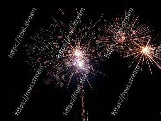 Fireworks, New Years Day, Photograph, Night, Sky, Midnight, Darkness, Event, Holiday, Festival