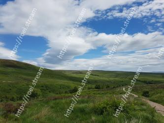 Grassland,Sky,Natural landscape,Highland,Nature,Mountainous landforms,Cloud,Natural environment,Hill,Vegetation