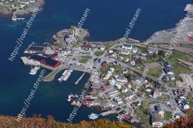 Aerial photography, Birds-eye view, Marina, Photography, Waterway, Harbor, Landscape, Inlet, Coastal and oceanic landforms, City Reine