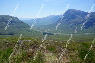 Highland, Mountainous landforms, Mountain, Fell, Grassland, Hill, Wilderness, Valley, Ridge, Natural landscape
