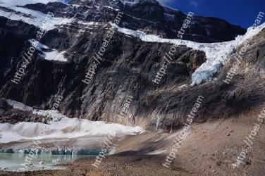 Mountainous landforms, Mountain, Glacial landform, Geological phenomenon, Moraine, Mountain range, Alps, Wilderness, Glacier, Cirque Mount Edith Cavell, Angel Glacier