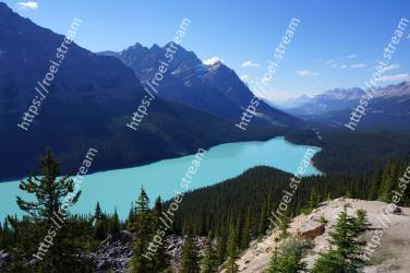 Mountainous landforms, Mountain, Wilderness, Nature, Mountain range, Highland, Ridge, Sky, Alps, Natural landscape Peyto Lake, Canadian Rockies, Peyto Lake