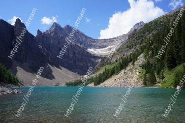 Mountainous landforms, Body of water, Mountain, Nature, Natural landscape, Lake, Wilderness, Highland, Glacial lake, Water resources Lake Agnes