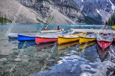 Water transportation, Boat, Vehicle, Boating, Water, Wilderness, Reflection, Watercraft, Kayak, Boats and boating--Equipment and supplies Moraine Lake