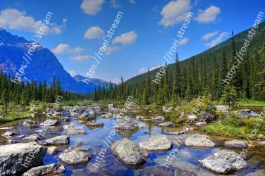 Natural landscape, Mountainous landforms, Mountain, Nature, Wilderness, Reflection, Water, Sky, Natural environment, Tree