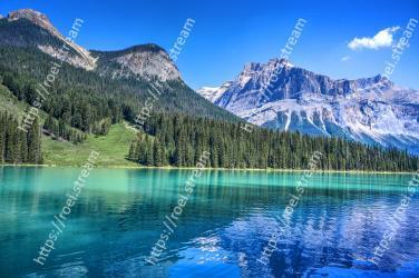 Mountain, Mountainous landforms, Natural landscape, Nature, Body of water, Reflection, Sky, Wilderness, Water, Lake Emerald Lake