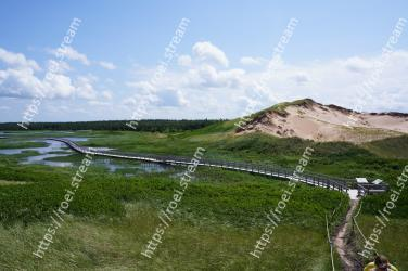 Natural environment, Grassland, Sky, Highland, Hill, Coast, Reservoir, Rural area, Fence, Landscape Prince Edward Island