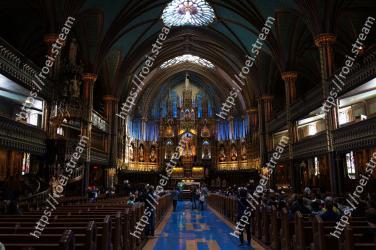 Building,Architecture,Holy places,Place of worship,Chapel,Church,Aisle,Basilica,Cathedral,Stained glass Notre Dame Basilica,Notre-Dame Basilica,Notre Dame de Paris,Universit� de Montr�al