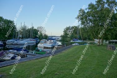 Marina, Dock, Grass, Vehicle, Recreation, Boat, Landscape, Park, Lawn, Yard