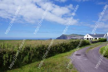 Property, Sky, Land lot, Natural landscape, Road, House, Cloud, Cottage, Rural area, Farm