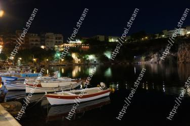 Water transportation, Night, Water, Harbor, Sky, Waterway, Boat, Light, Marina, Port