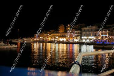 Night, Water, Light, Reflection, Waterway, Sky, Town, Lighting, Harbor, City