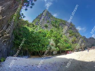 Nature, Vegetation, Mountain, Mountainous landforms, Beach, Sky, Sea, Wilderness, Coast, Tropics