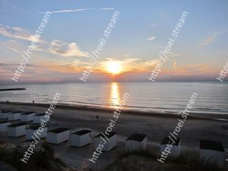 Sky, Horizon, Sea, Sunset, Water, Ocean, Sunrise, Evening, Sun, Afterglow