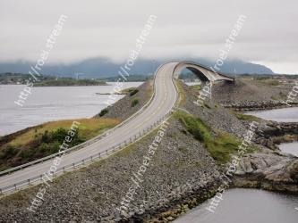 Arch bridge, Bridge, Water resources, Water, River, Road, Fixed link, Levee, Concrete bridge, Architecture Atlantic Ocean Road