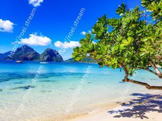 Body of water, Natural landscape, Nature, Sky, Tropics, Sea, Beach, Shore, Ocean, Coast